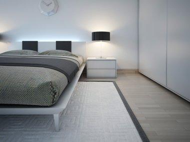 Elegant monochrome bedroom trend