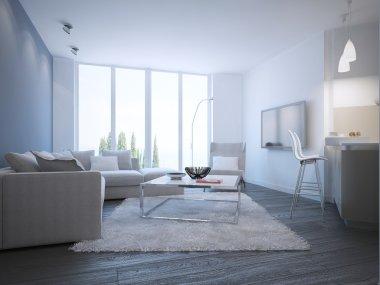 Contemporary living room studio