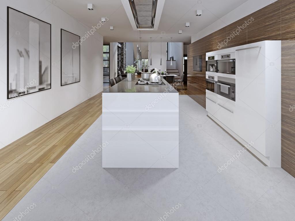 Diseño de cocina contemporánea — Foto de stock © kuprin33 #83411022