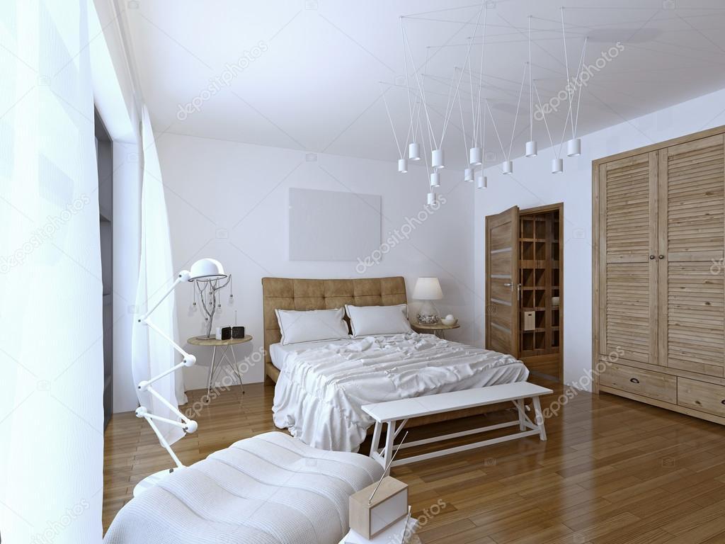 Slaapkamer moderne stijl u2014 stockfoto © kuprin33 #83411294