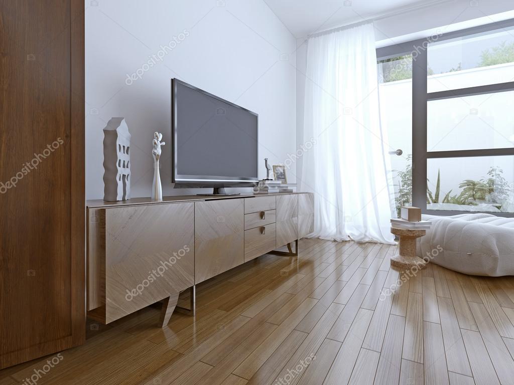 Toll TV Tisch Auf Zeitgenössische Schlafzimmer U2014 Foto Von Kuprin33