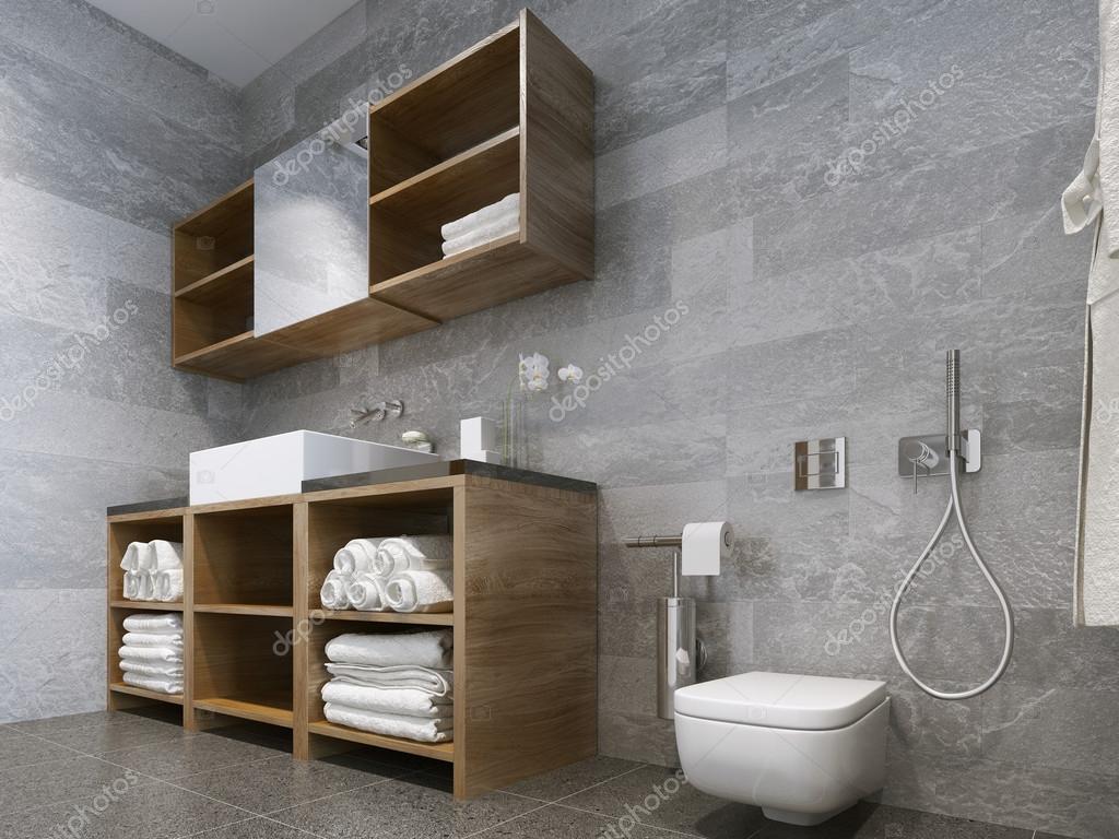 Bagno Stile Naturale : Bagno in stile moderno u foto stock kuprin