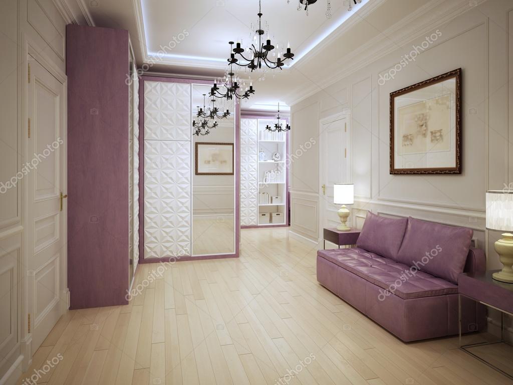 Sierlijke ingang hall art decostijl u2014 stockfoto © kuprin33 #83412870