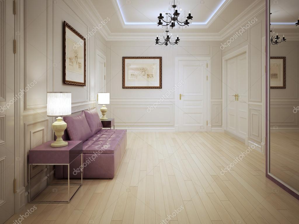 Style moderne du hall d\'entrée — Photographie kuprin33 ...
