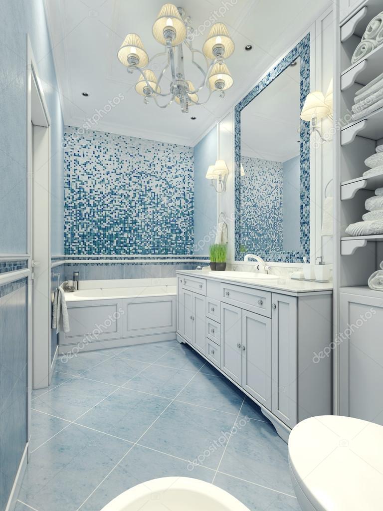 Style art déco de salle de bain — Photographie kuprin33 © #83413340