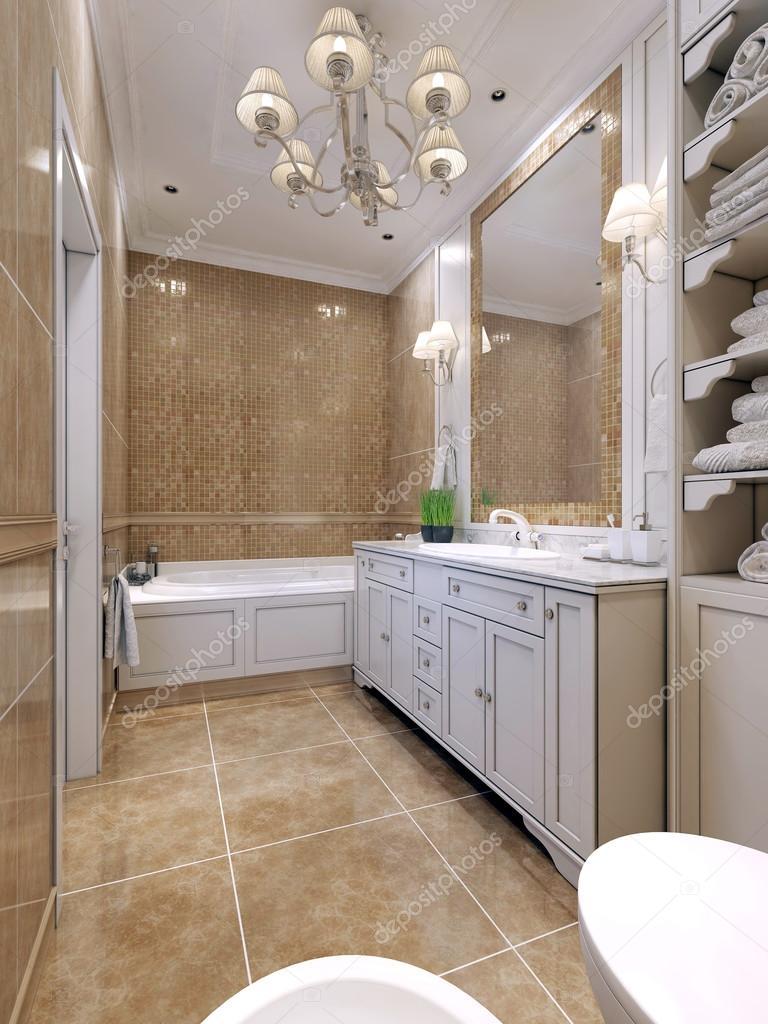 Style art déco de salle de bain — Photographie kuprin33 © #83413352