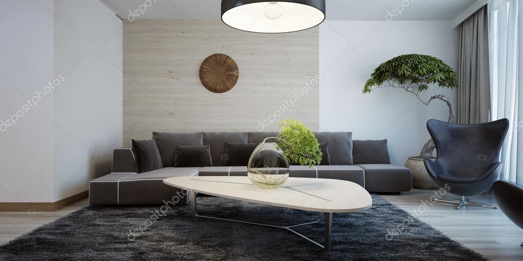 Ötlet a modern nappali — Stock Fotó © kuprin33 #83413694