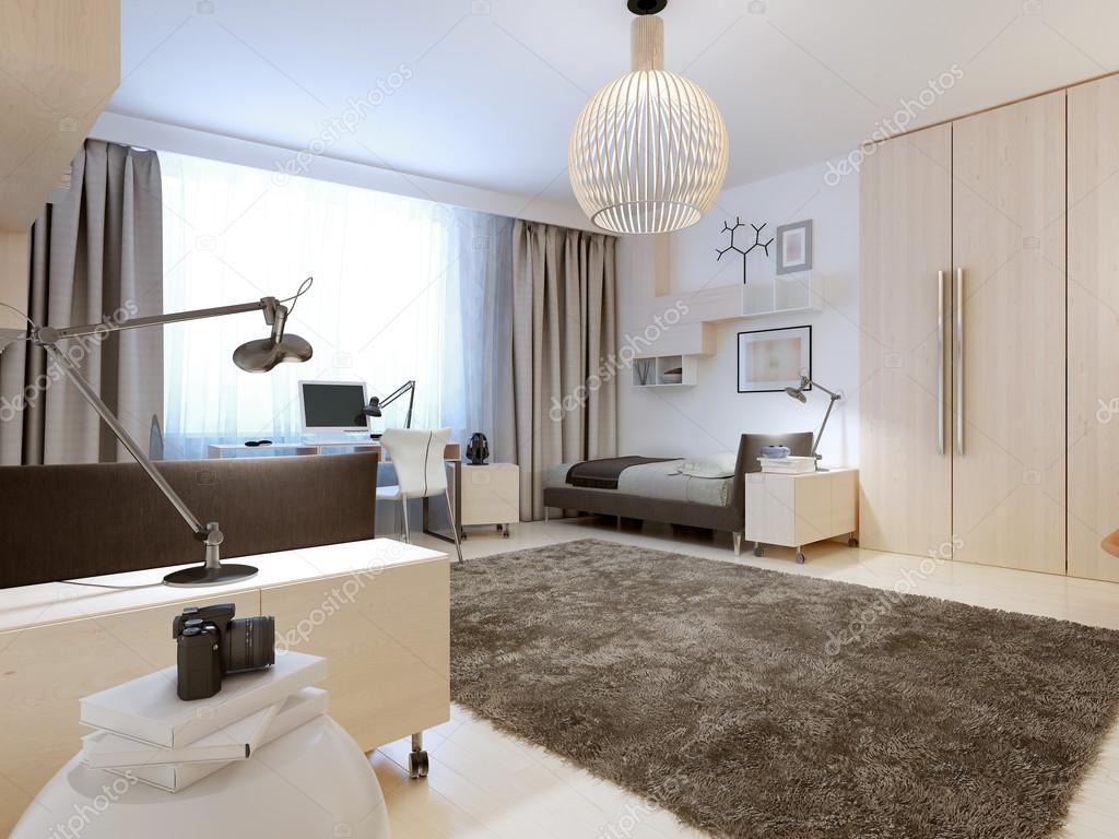 Design della camera da letto contemporanea foto stock for Design della camera da letto