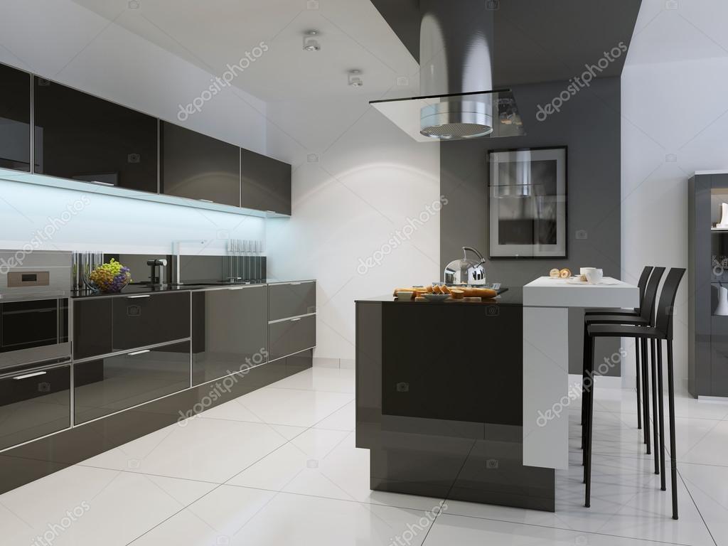Idea del estilo de techno cocina — Fotos de Stock © kuprin33 #83413954