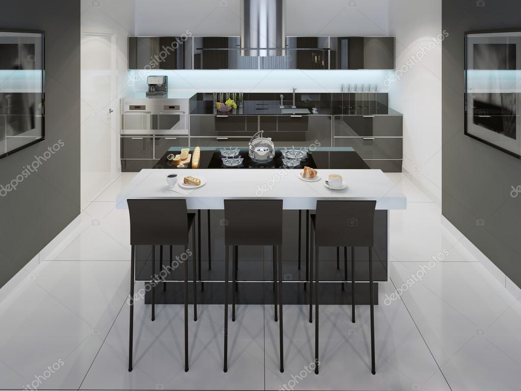 Estilo minimalista de cocina comedor fotos de stock for Comedor minimalista
