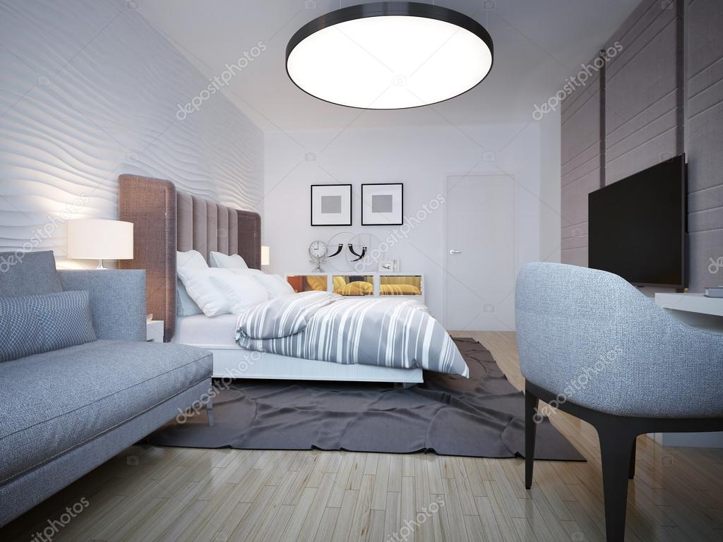 style moderne chambre à coucher — Photographie kuprin33 © #83414020
