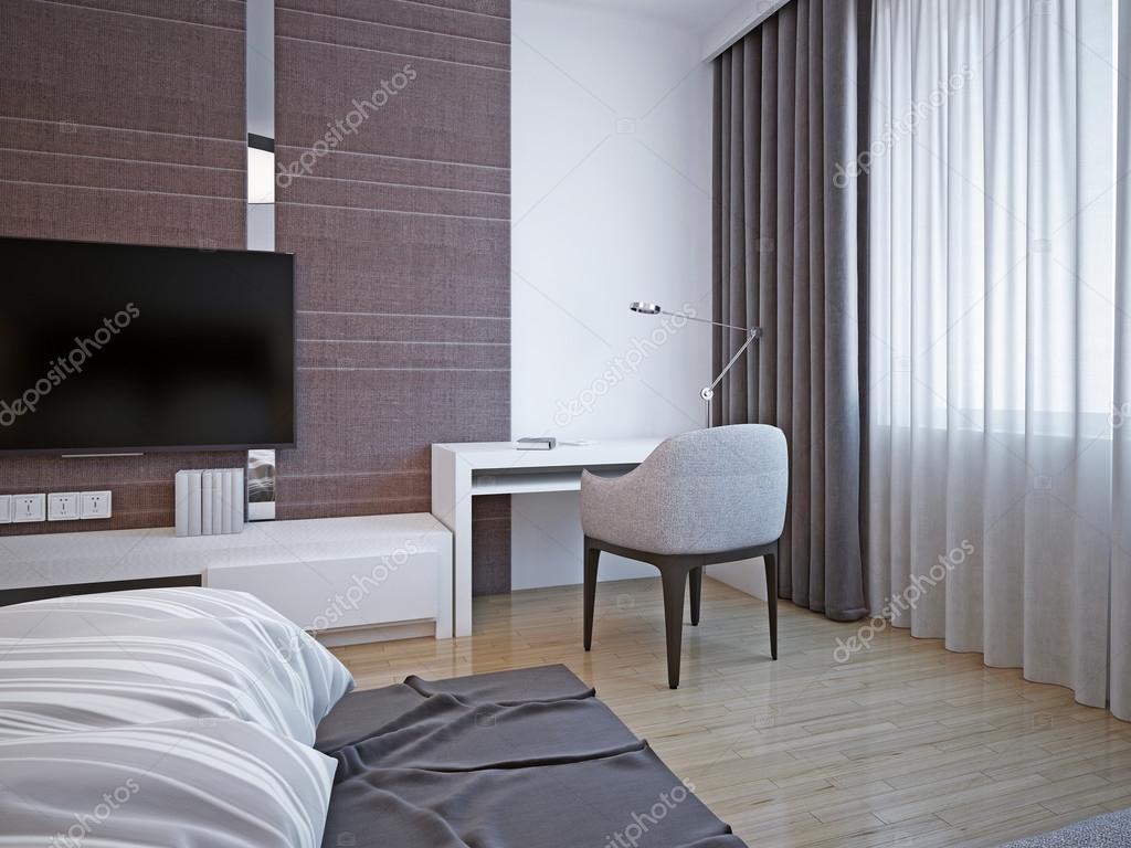 Camere Da Letto Art Deco : Area di lavoro in camera da letto art deco u2014 foto stock © kuprin33