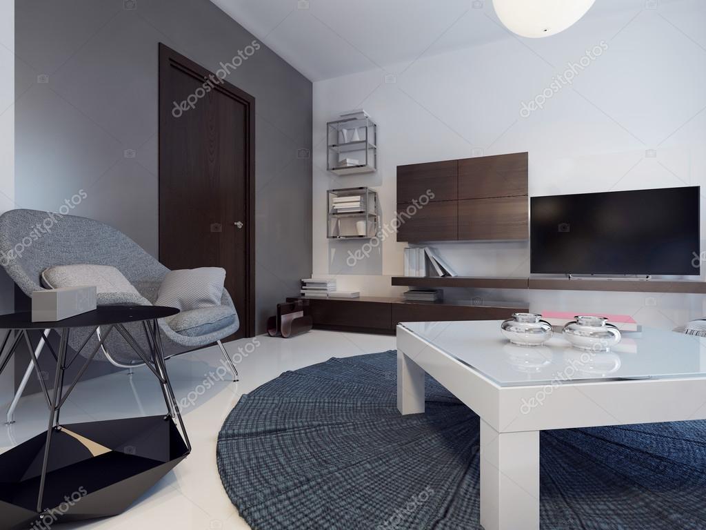 Idee van hedendaagse woonkamer — Stockfoto © kuprin33 #83415068