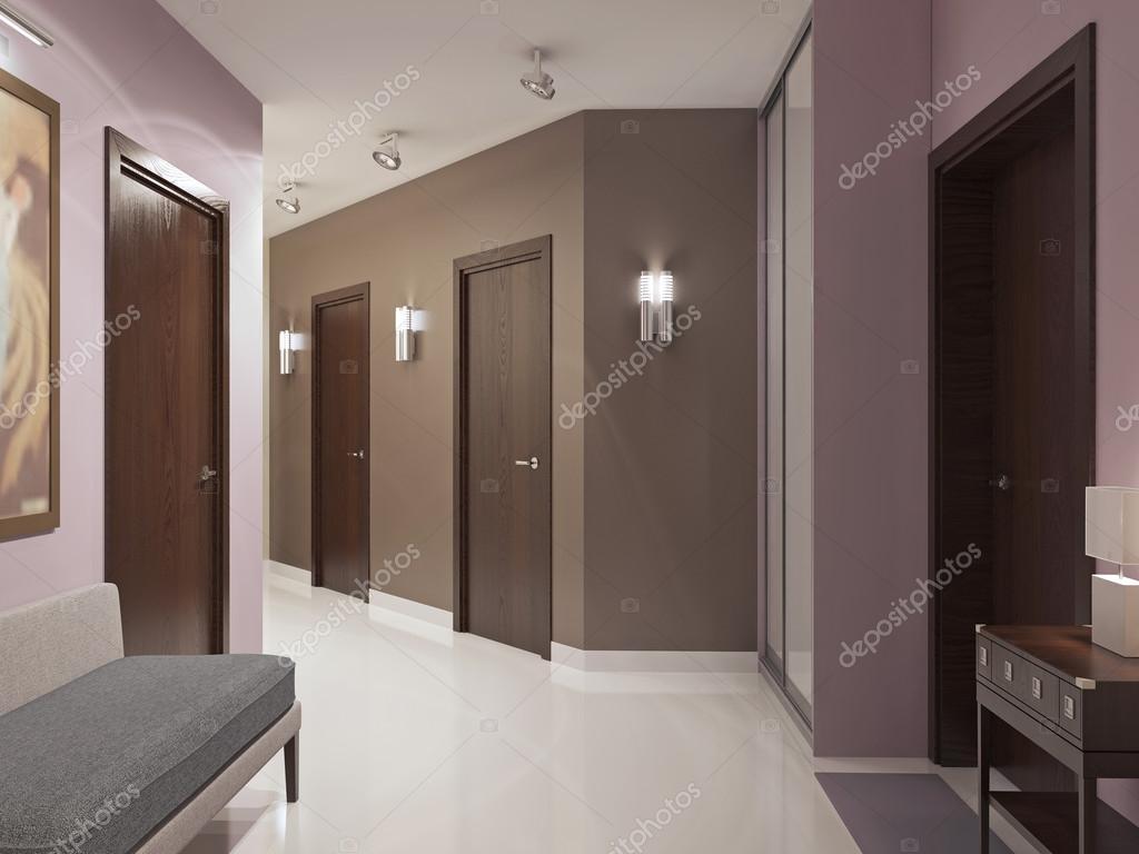 Tendance élégant couloir moderne — Photographie kuprin33 © #83415118