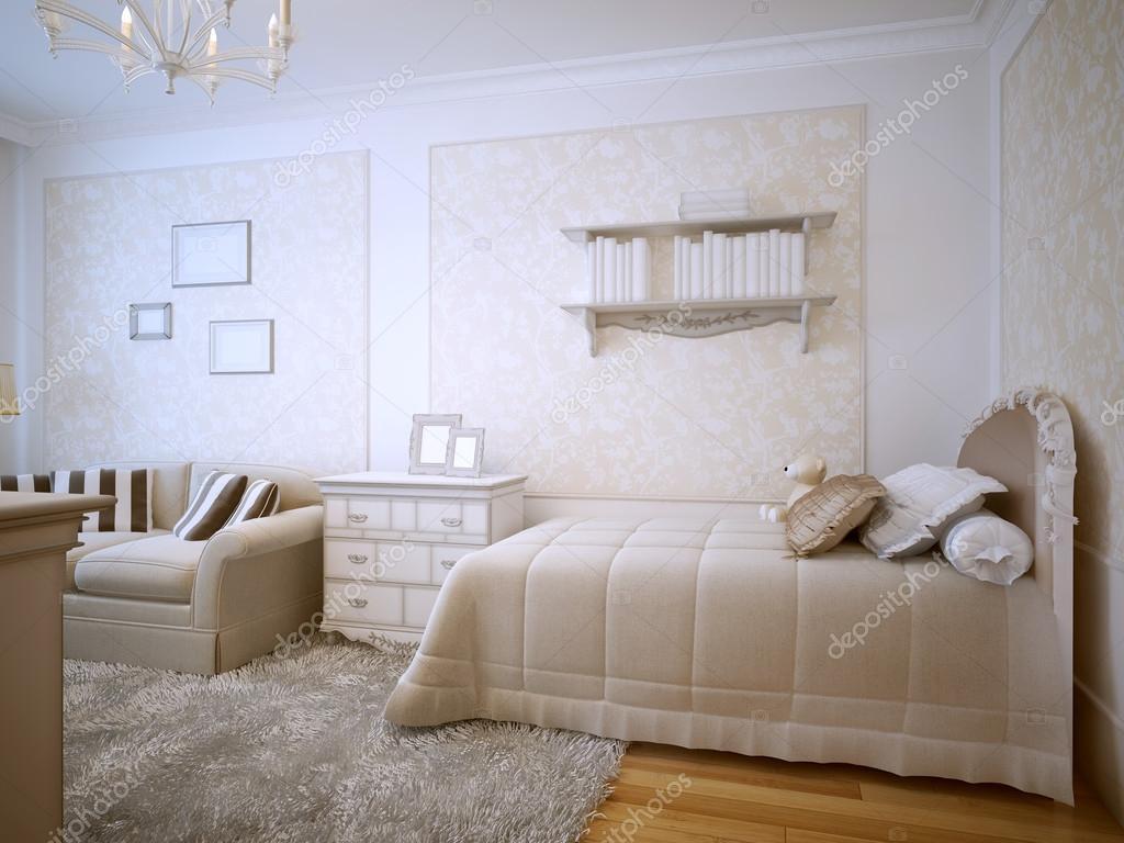 Design classico camera da letto di lusso — Foto Stock © kuprin33 ...