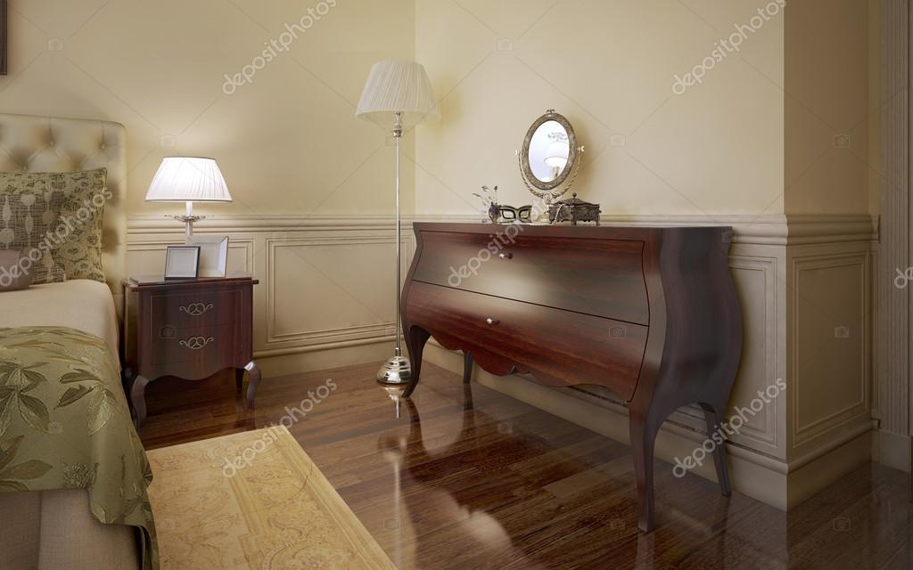 Tendenza di camera da letto moderna foto stock for 2 piani di camera da letto
