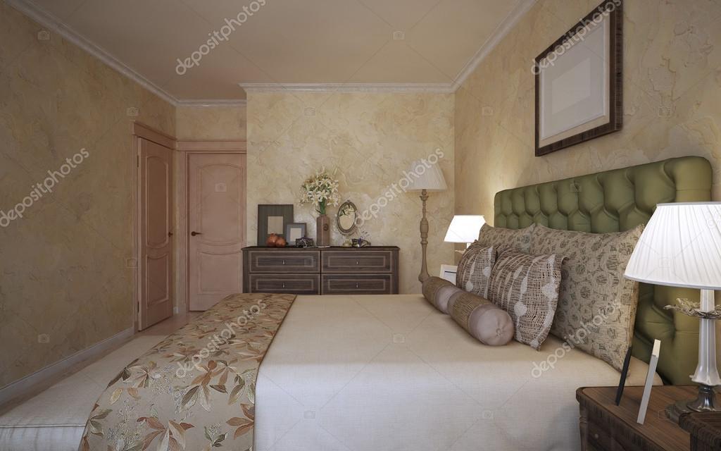 Idee der mediterrane Schlafzimmer — Stockfoto © kuprin33 #83418852