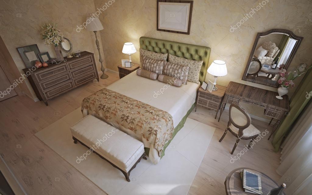 Mediterranes Schlafzimmer trend — Stockfoto © kuprin33 #83418878