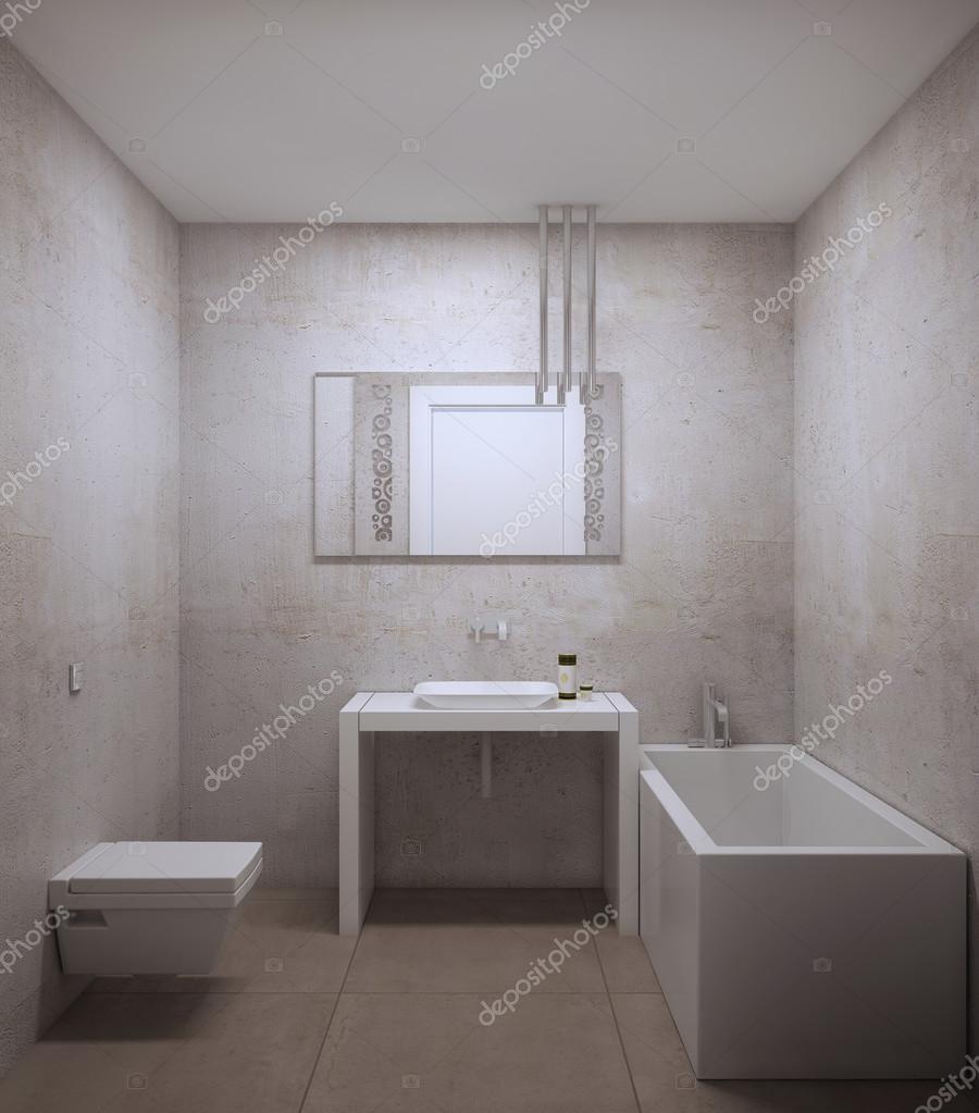 Idee van kleine badkamer — Stockfoto © kuprin33 #83419008