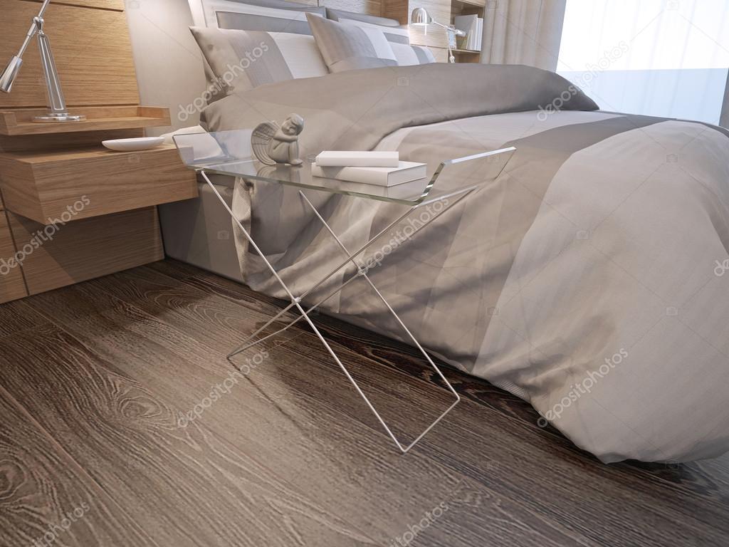 Master-Schlafzimmer zeitgenössischen Stil — Stockfoto © kuprin33 ...