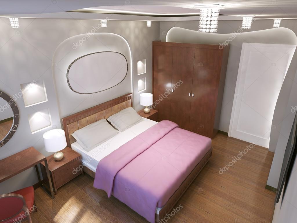 Gestaltung von Jugendstil-Schlafzimmer — Stockfoto © kuprin33 #83419296