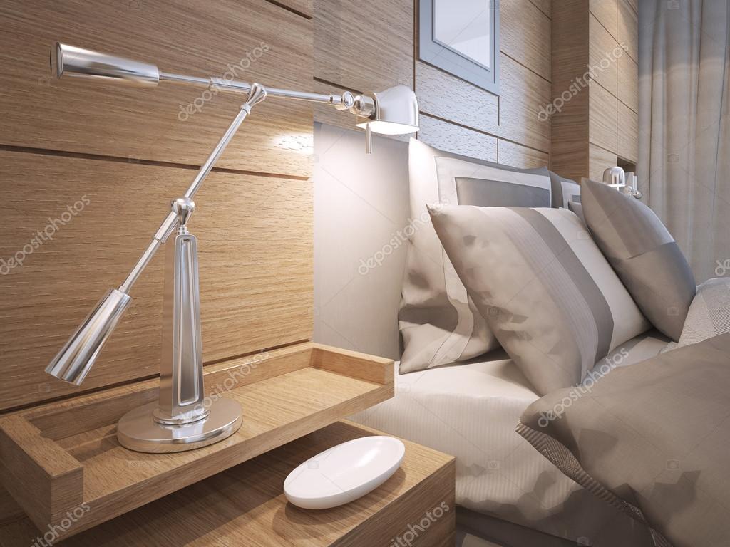 Slaapkamer Lamp Idee : Idee van loft slaapkamer u stockfoto kuprin