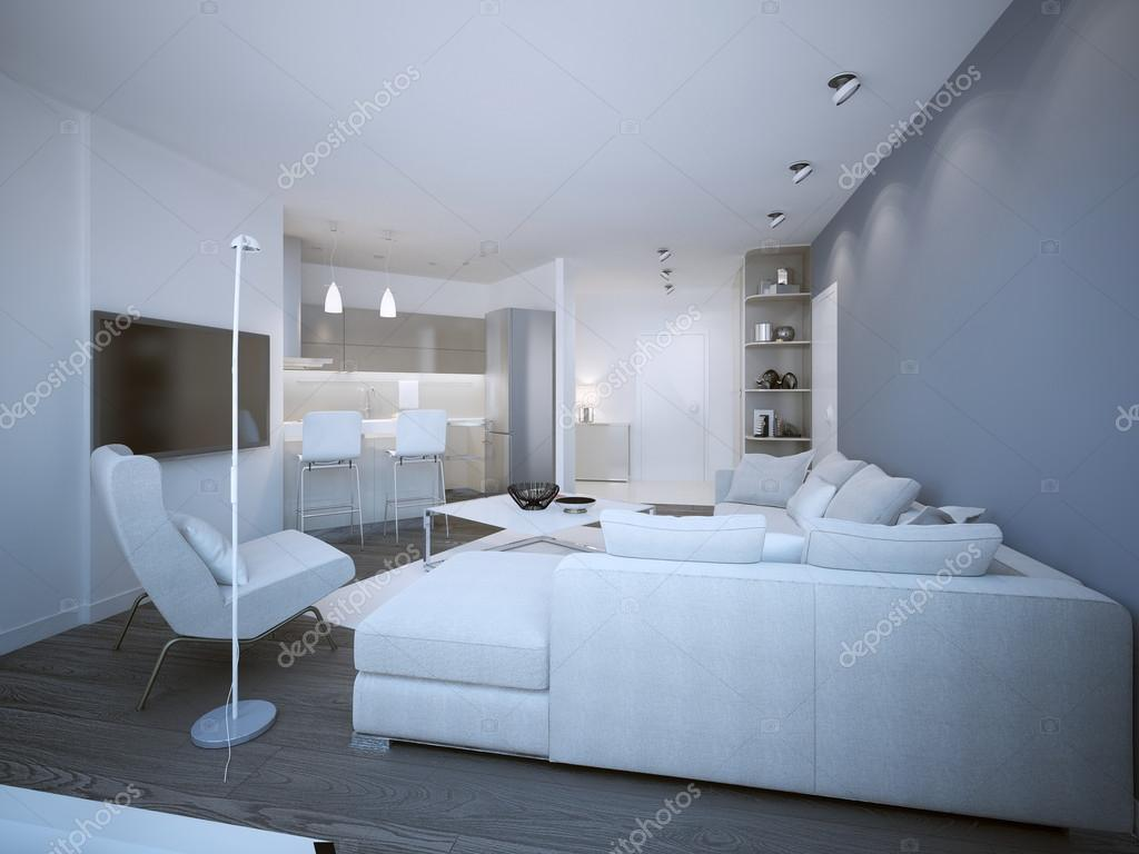 Lounge-Zimmer-Techno-Stil — Stockfoto © kuprin33 #83419516