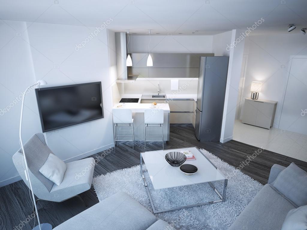 Techno Lounge Zimmer studio — Stockfoto © kuprin33 #83419554