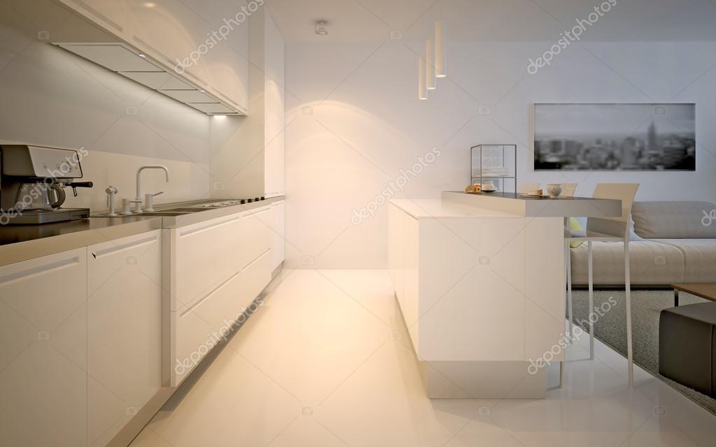 Studio-modernes Küchendesign — Stockfoto © kuprin33 #83426654