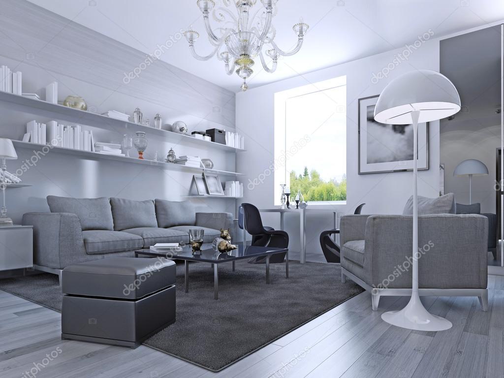 Ob vac pokoj v modern m stylu stock fotografie for Ultimas tendencias en decoracion de apartamentos