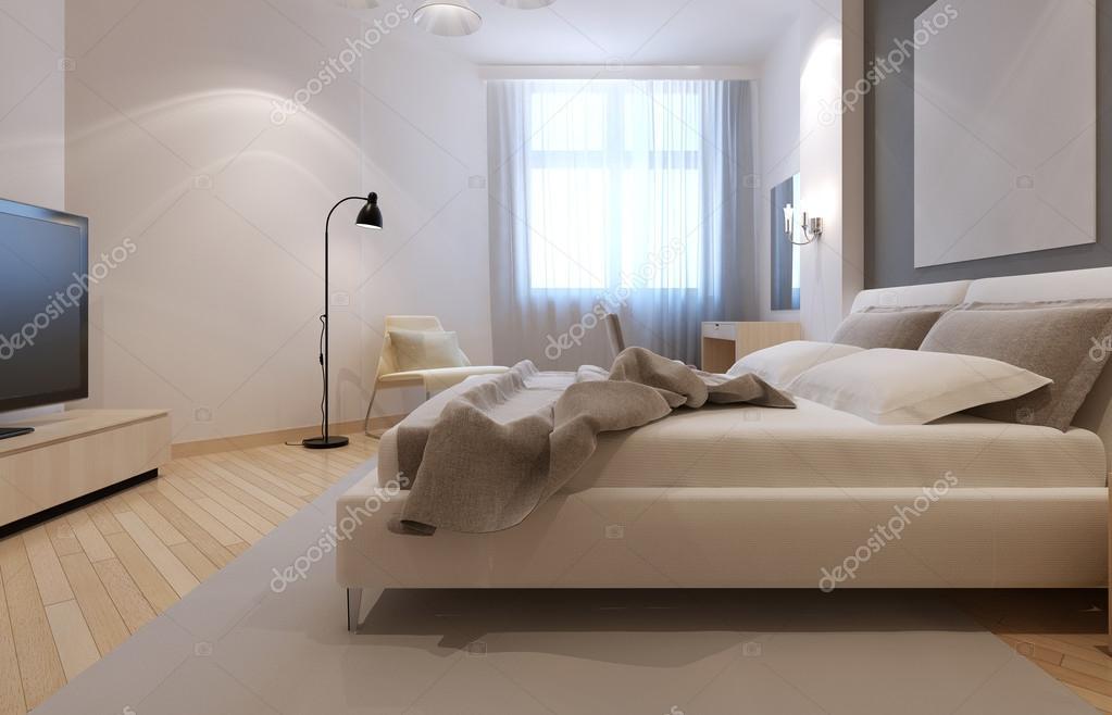 Idee van art deco slaapkamer u stockfoto kuprin