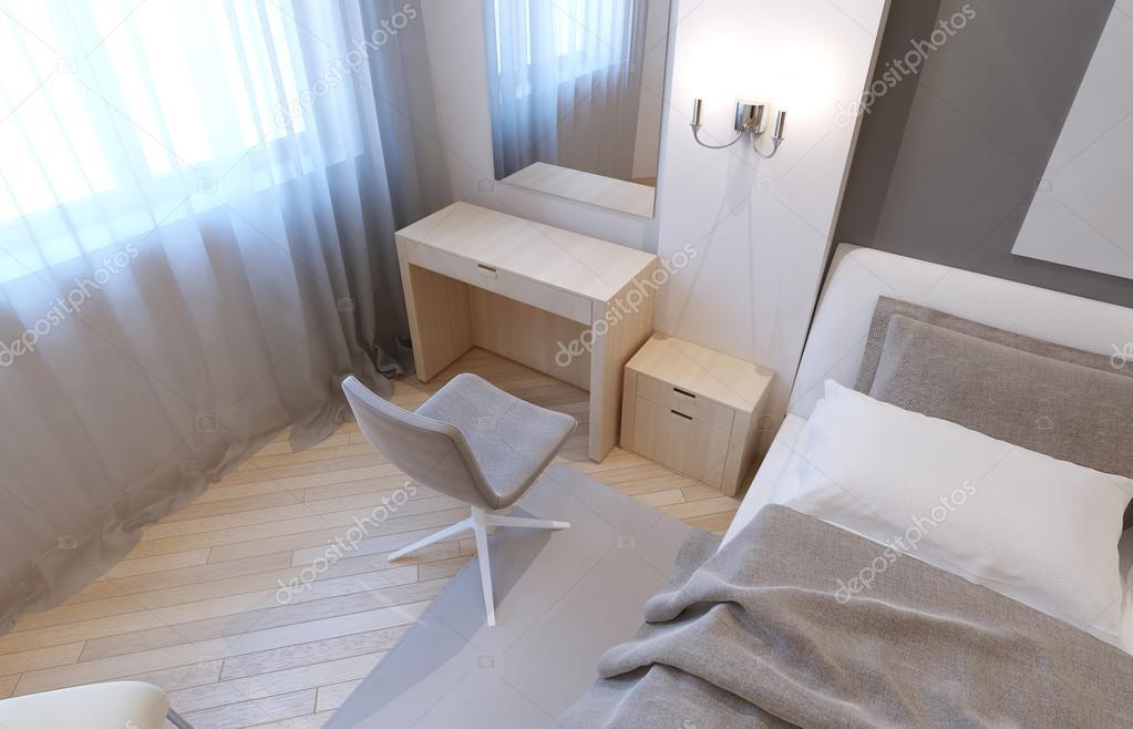Schminktisch im Schlafzimmer — Stockfoto © kuprin33 #83427114