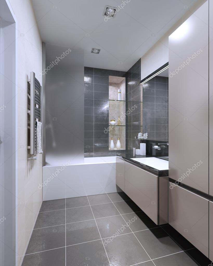 moderna badrum design — Stockfotografi © kuprin33 #83430944