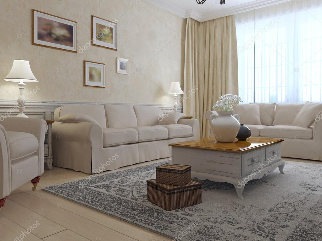 Provence-Lounge-Interieur — Stockfoto © kuprin33 #87649096