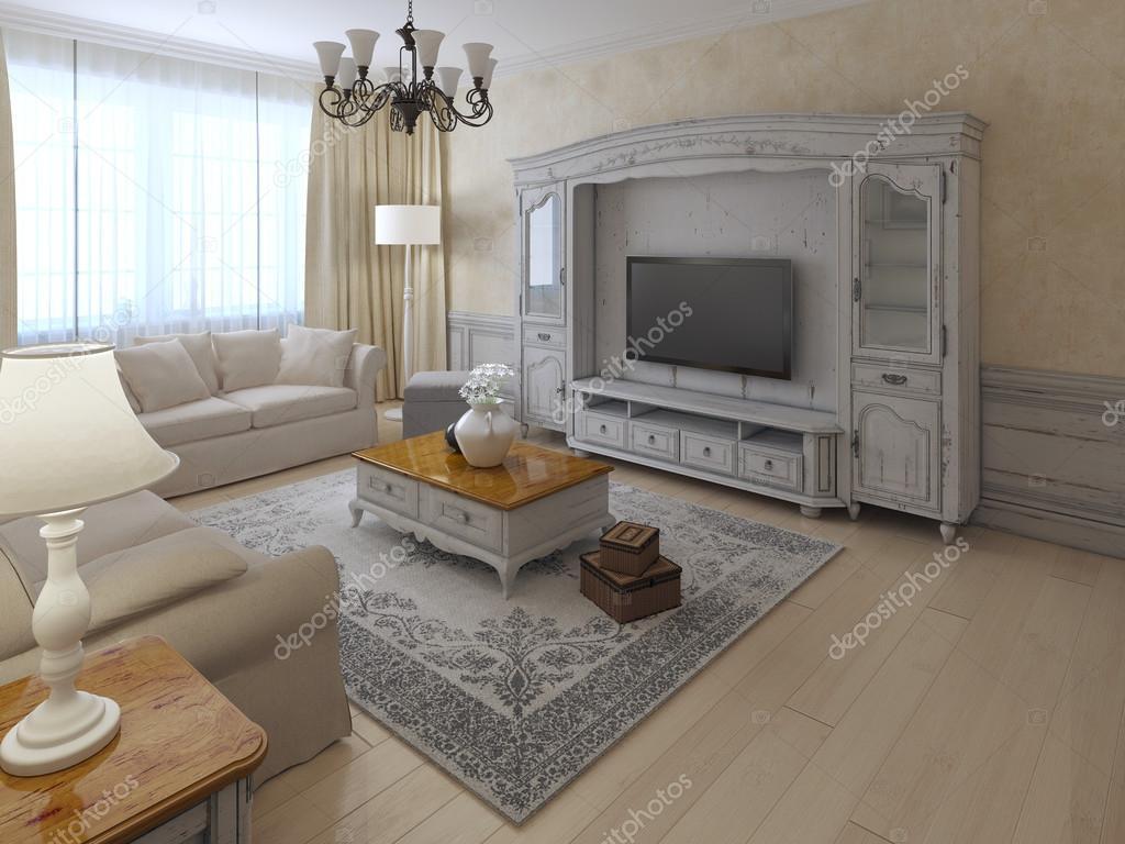 shabby chil int rieur du salon photographie kuprin33 87649128. Black Bedroom Furniture Sets. Home Design Ideas