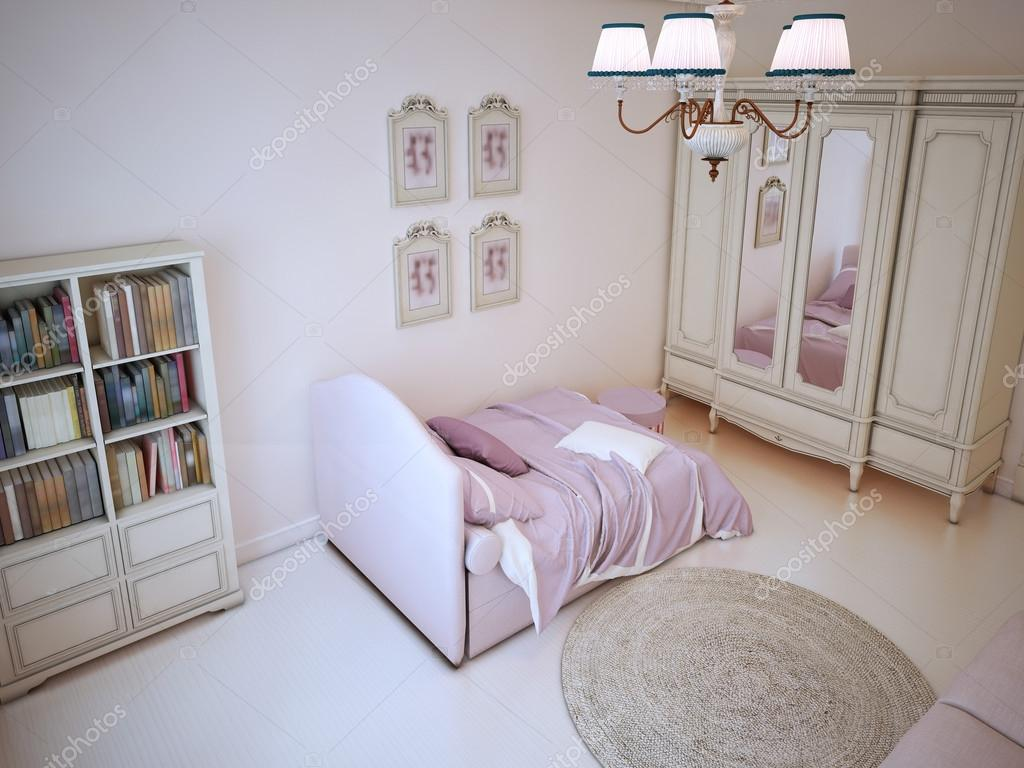 Shabby Chic Bookcase Ideas Teenager Bedroom With Bookcase