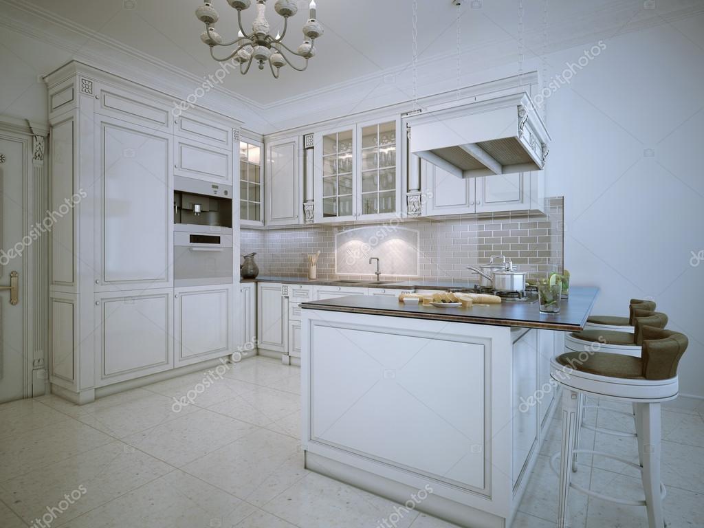 Art deco stijl keuken u2014 stockfoto © kuprin33 #87649476