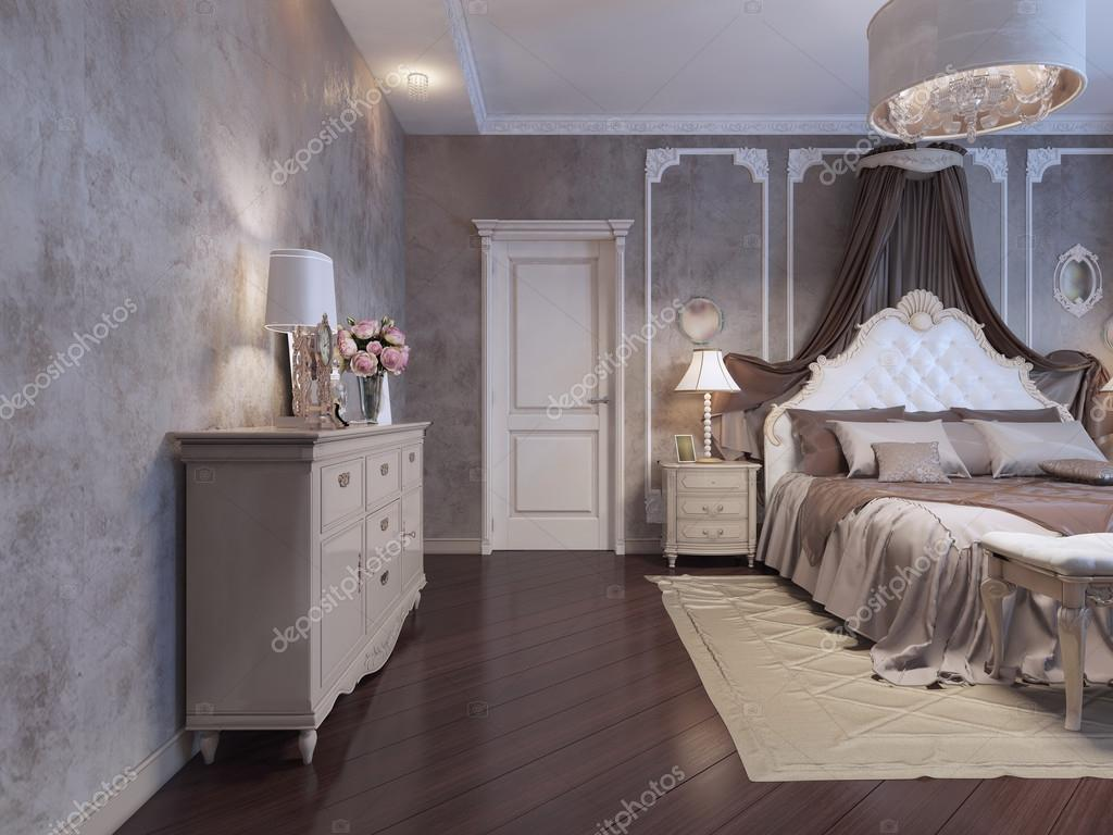 Bedroom In Rich House Stock Photo C Kuprin33 87650352