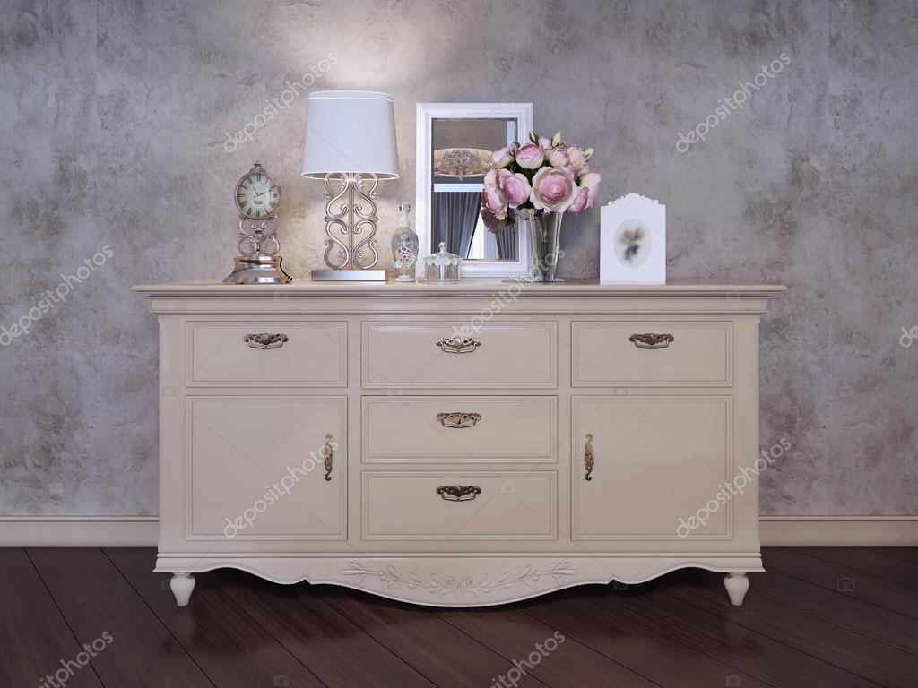 Parete Camera Da Letto Argento : Singolo armadio vicino alla parete nella camera da letto u foto