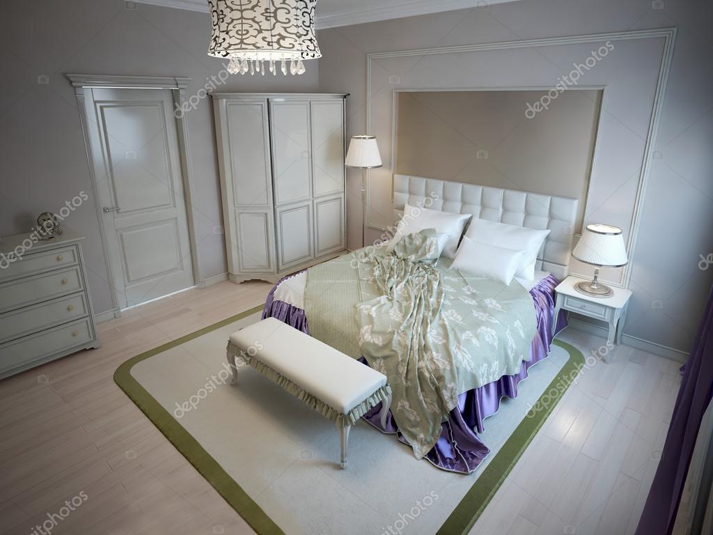 Ispirazione per la camera da letto di lusso hotel — Foto Stock ...