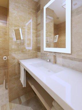 Bright bathroom trend