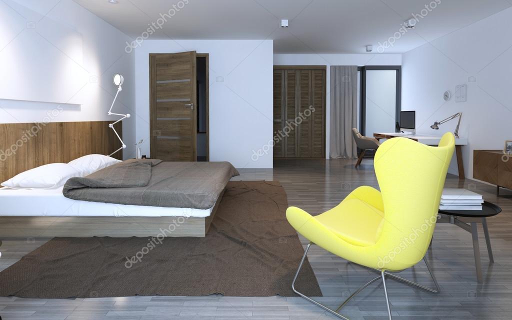 Immagini Di Camere Da Letto Con Cabina Armadio : Camera da letto con cabina armadio u foto stock kuprin