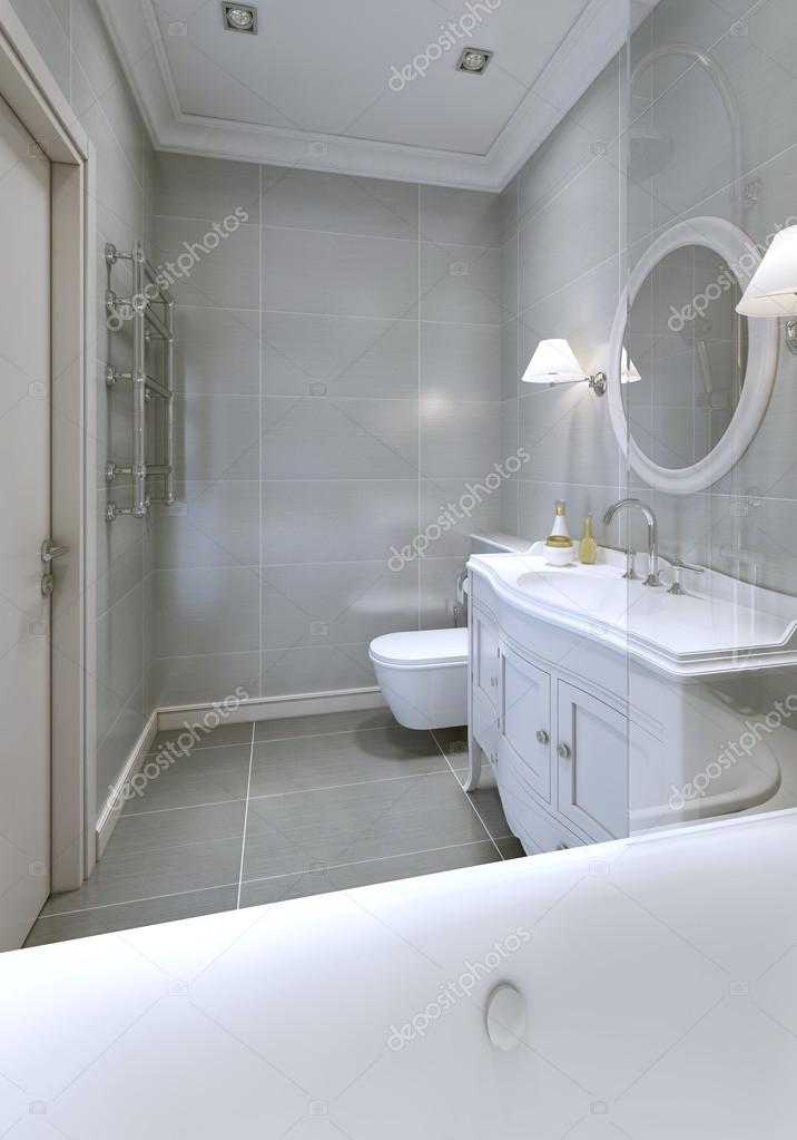 Style art déco de salle de bain — Photographie kuprin33 ...