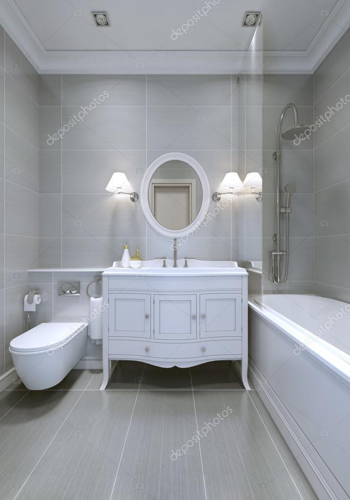 klasszikus fürdőszoba design — Stock Fotó © kuprin33 #94645508