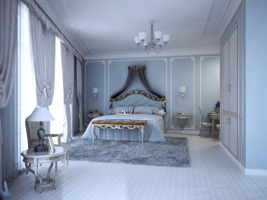 Luxury bedrom in private house