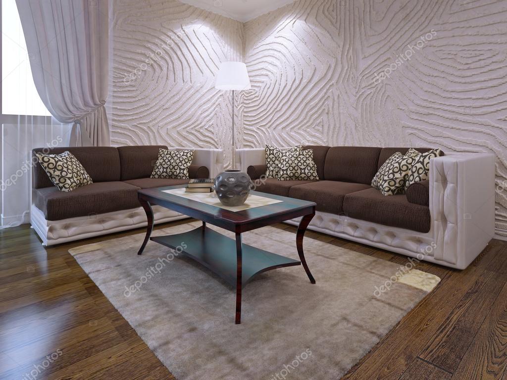 Elegant woonkamer meubels set — Stockfoto © kuprin33 #94656438