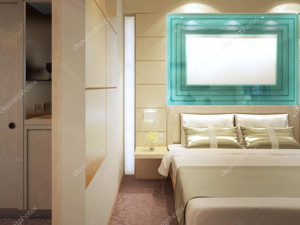 Kleedkamer In Slaapkamer : Dure slaapkamer met kleedkamer u2014 stockfoto © kuprin33 #95342944