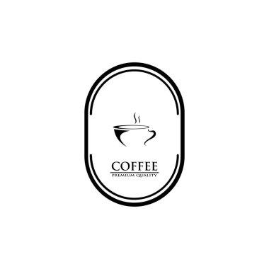Coffee Shop Logo. Vector coffee shop labels. icon