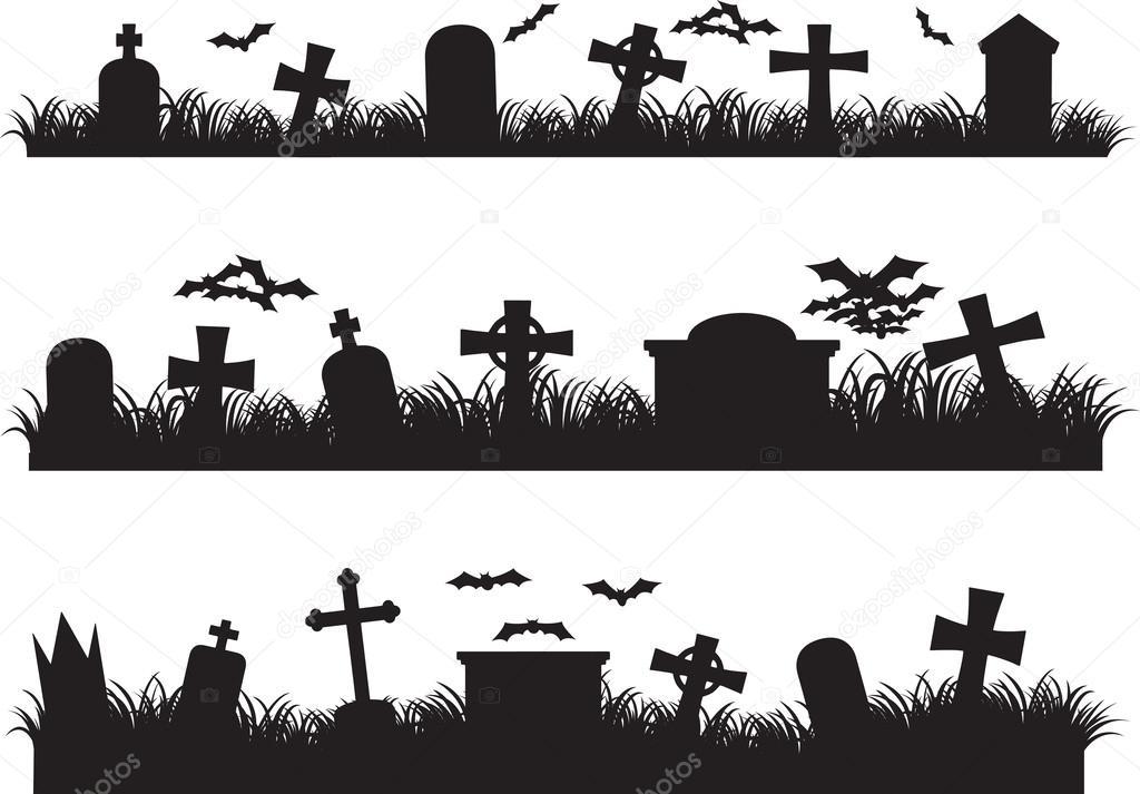 Cimetière D Halloween Image Vectorielle Alexghidan89