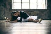 Junge Balletttänzerin